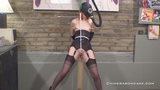 Tight Crotch Rope, Pegs and a Gasmask