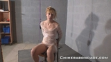 Tape Gagged Chair Tied Ariel Anderssen