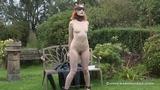 A Naked Outdoor Bondage Test