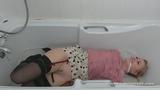 Lucy Lauren's Fully Clothed Bathtime Bondage