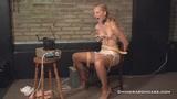 Ariel Anderssen's Extreme Circular Nipple Pulling Punishment