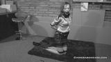 1950's Anita De Bauch Ball Gagged And Hogtied