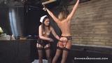 Lucy Laurens Bound Hard Spanking By Kinky Nurse