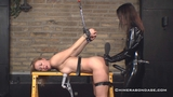 Lucy Laurens Milking Machine And Strap-on Bondage Ordeal