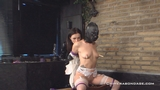 Self Bound Lucy Lauren Is Stripped, Clamped And Tormented By Faye Taylor