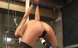 Winched, Plugged and Vibrated Then forced to Cum