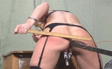 Pussy Clamps, Anal Dildo and Spanking