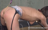 Anal Hooked and Forced Orgasms While Made to Watch
