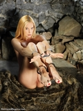 RE1453: Ariel Anderssen Trying out the bondage gear