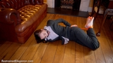 VID0554: Sophia Smith Toe Tie Hog Tie Spy