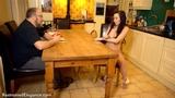 VID0555: Sophia Smith Bondage Strip Poker with the Landlord
