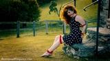 VID0517: Zoe Page Sunset Damsel in Danger