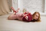 AL0327: Irina hogtied at home