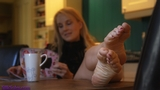 SS0157V: Ariel Anderssen the barefoot kitchen maid