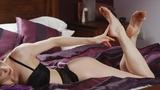 SS0036V: Katy Cee Silk Soles Seduction