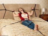 RE1773: Rachel Adams Daring damsel disgracefully distressed!
