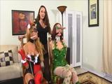 Harley Quinn & Poison Ivy Captured
