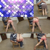 Amy Nicole gets her first spanking! POV 4