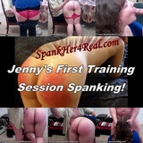 Jenny's First Training Session Spanking