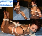 Lizabeth Hogtied Hottie