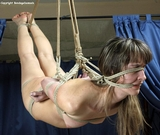 Tormented - And She Liked It (HD) Tightly bound, shibari suspension bondage. A hemp rope ballgag and blindfold. And then it begins. Erotic teasing and tickling. Sexual torment. And whatever he wants..