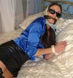 Olivia is the Film Star in Bedroom Bondage