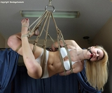Shibari Suspension Bondage - Tickling, Teasing and Erotic Torment