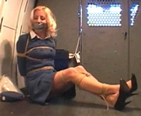 Flight Attendant Going For a Ride in The RopExpert Van