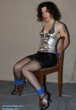 Myrol, Sexy Strappy High Heels, Tight Chair Tie