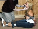 Boobs and Tape Gag
