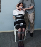 Candy Rose Mouth Stuffed and Tape Gagged
