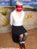 Simone Blindfolded and Bound