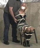 MoRina Roped To The Chair!
