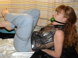 Chained, Ball Gagged and Barefoot