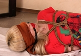 Frances Bound, Ballgagged and Blindfolded (HD)
