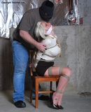 Secretary Hannah Bound, Gagged & Fondled