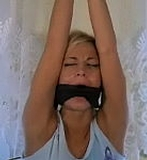 Bit Gagged and Strung Up - Classic Video