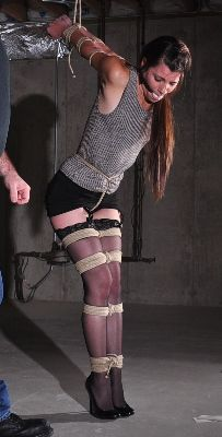 image Tied up in ball gag fucked first time