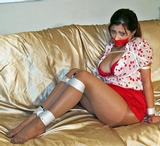Vivian Ireene Pierce Bound in Pantyhose