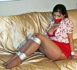 Vivian Ireene Pierce Bound in Pantyhose