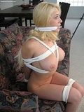 Bondage Girls Agency. As part of their training they were stripped naked, tightly bound hand and foot, cleave gagged and left to struggle!