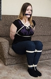 Bridgette  Roped and Cleave Gagged