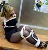 Tight White Cinched Ropes, Patricia Classic Video
