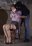 Nabbed - Her Paid Bondage Fantasy Fulfilled!