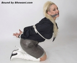 Sixties Girl Bound and Gagged