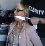 Scarlette Anne stars in The Secretary Bound At Her Desk I