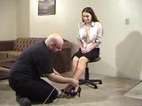 Tying Her Legs