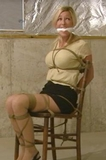 Chair Tied Struggle, Her Paid Fantasy Abduction