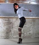 Sexy Secretary Stiletto Strappado<br>33 Hot Bondage Pics!
