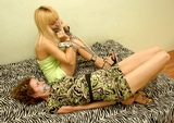 Girlfriends Share Bondage Games